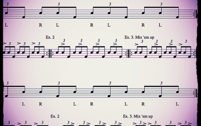 Drum Lesson: Get More Out Of Your Triplets Part 3