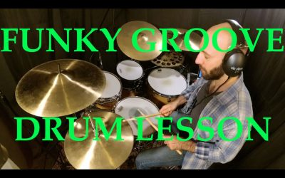Awesome Funk Groove [Drum Lesson]