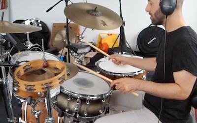 Tambourine and Cowbell Drum Loop!